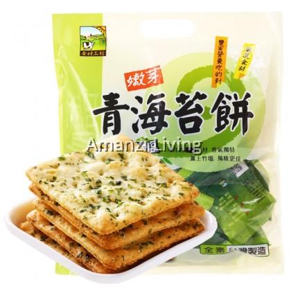 Bamboo Salt Seaweed Biscuit 青海苔饼